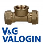V&G Compression 15 mm X 15 mm X 1/2