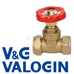 V&G Compression 22 mm Gate Valve