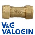 V&G 15 mm Compression Single Check Valve