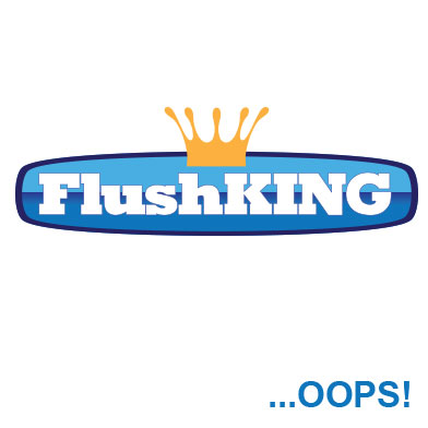 "FlushKING Flexi Mount, Push Button Dual Flush Valve (1.1/2"")"