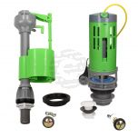FlushKING Complete Repair Pack 5 - Cable Lever Flush - Fixed Bottom Fill