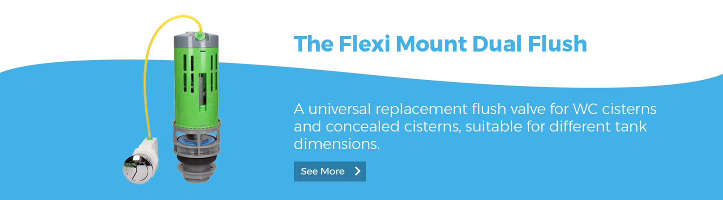 Flexi Mount Dual Flush